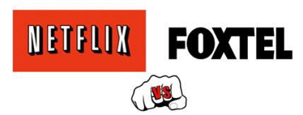Netflix vs Foxtel