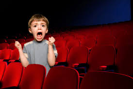 kid in cinema
