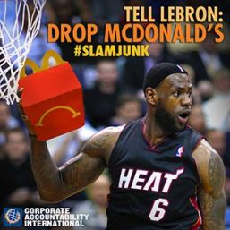 Lebron Drop McDonalds