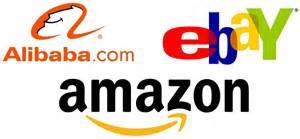 Alibaba Amazon ebay