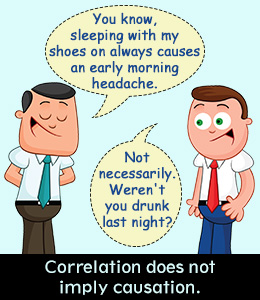 Correation doesnt equal causation