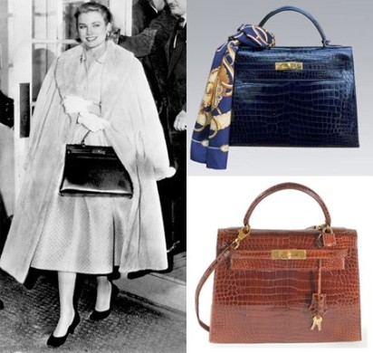 Grace Kelly with Hermes